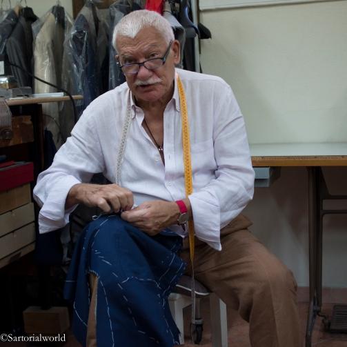 Vincenzo bénéficie des conseils et de l'expérience de son oncle Raffaelle